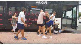 Violento ataque al conductor de un colectivo en España