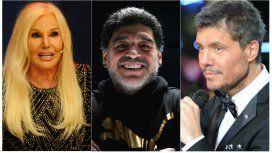 Diego Maradona sobre Susana y Tinelli