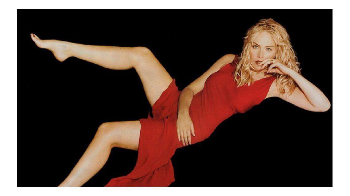 Sharon Stone publicó un video del casting de Bajos instintos