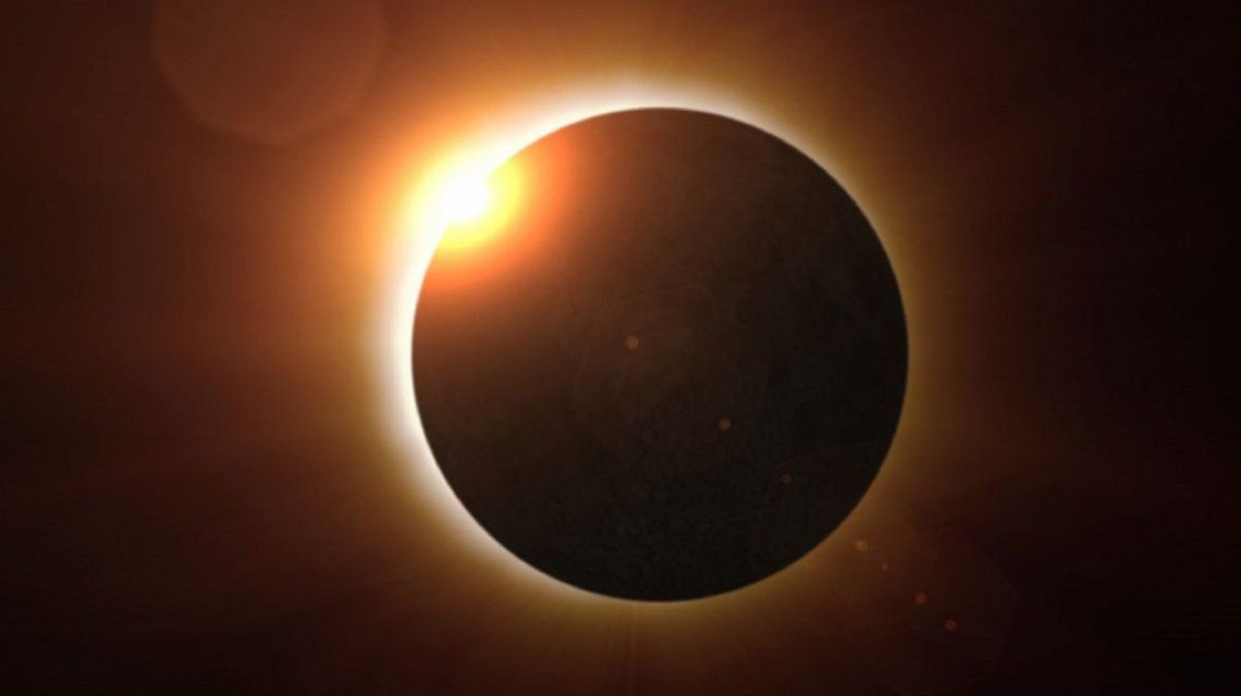 La NASA transmite en vivo el eclipse total de Sol
