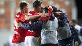 El cordobés jugó su último partido en Chile