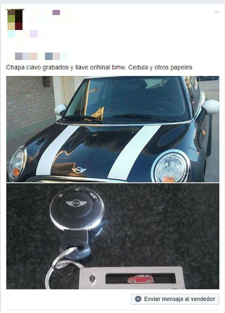 Autos crudos tal como les denominan a los vehículos robados