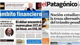 Tapas de diarios del jueves 17 de agosto de 2017