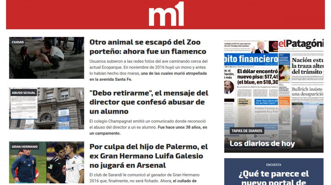 Nuevo diseño y plataforma renovada: minutouno.com cambió para vos