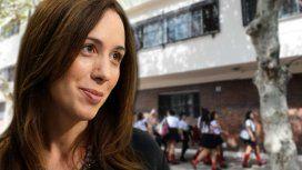 VIDEO: El tenso cruce entre Vidal y una docente por la paritaria bonaerense