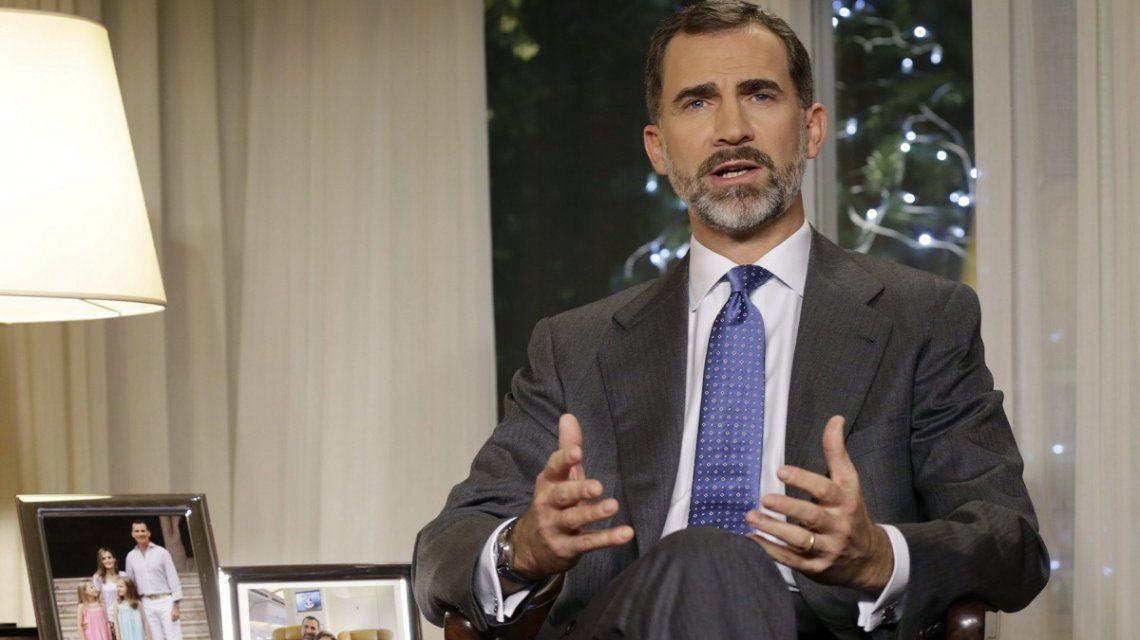 El Rey de España condenó el atentado en Barcelona - Crédito: laSexta Noticias
