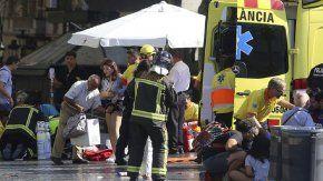 el relato de un argentino en barcelona: fue un desastre, parecia una pelicula