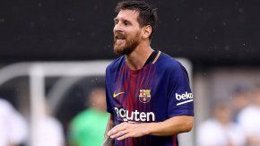 Messi abrió el marcador ante Real Madrid en Miami