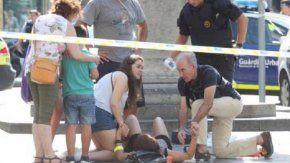 atentando en barcelona: dos argentinos resultaron heridos