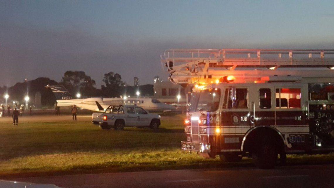 Se despistó un avión en Aeroparque: derivan vuelos a Ezeiza