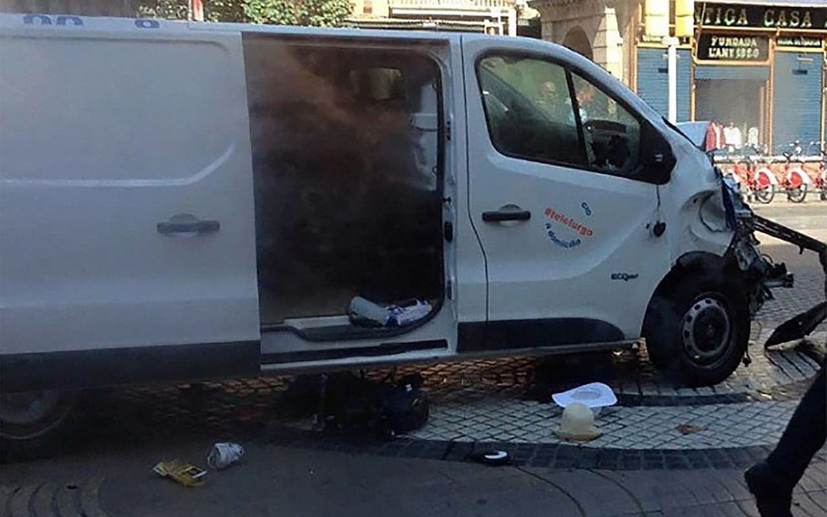 El argentino que fue atropellado en Barcelona y se salvó