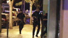Así actuaban las fuerzas de seguridad tras los atentados