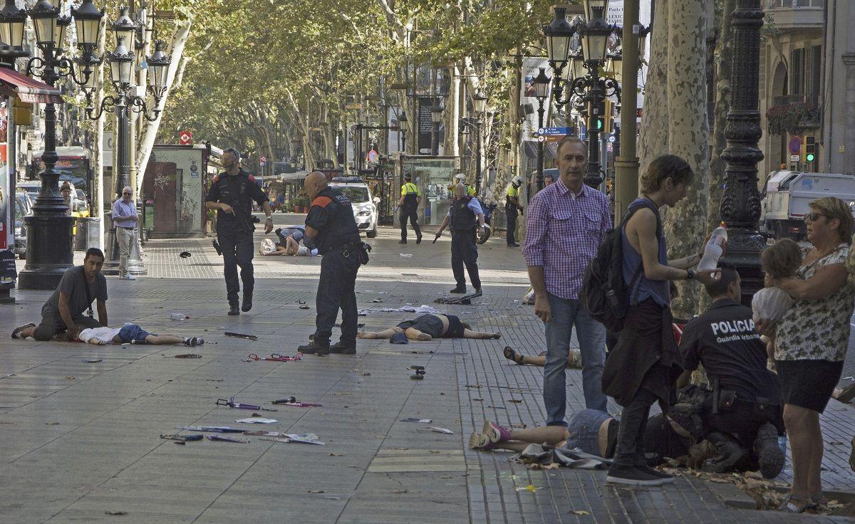 Un atentado en Barcelona dejó al menos 13 muertos
