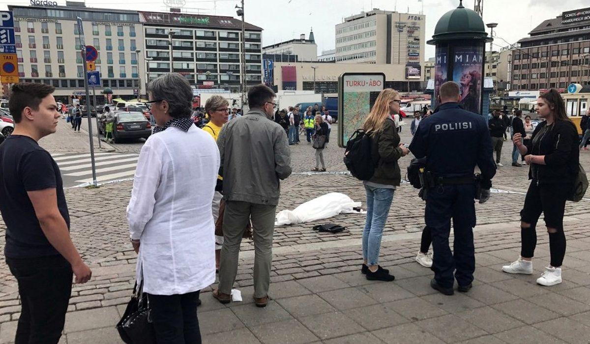 La policía le disparó a un hombre que apuñaló a varias personas en Finlandia