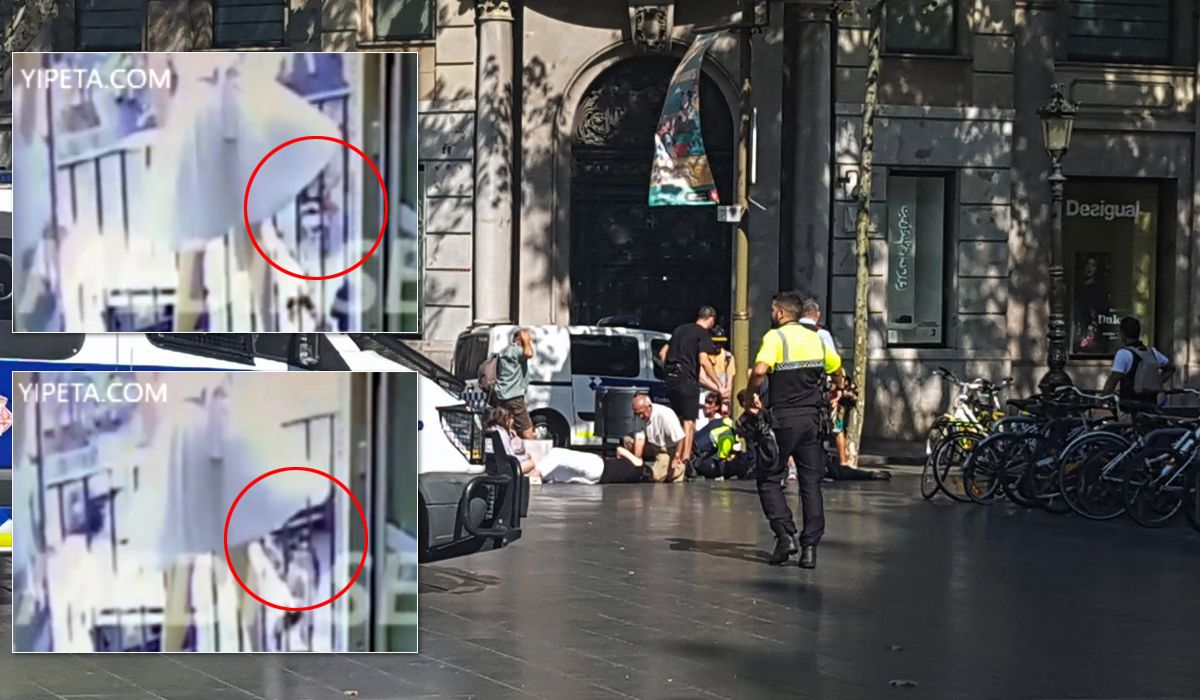 VIDEO: Graban el momento del ataque de la camioneta en Barcelona