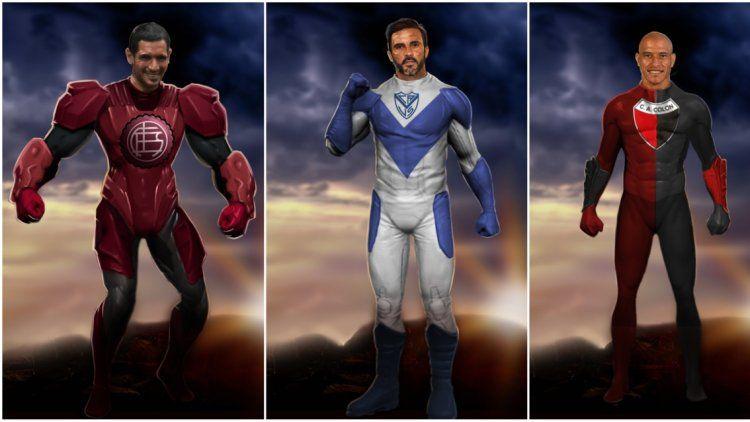 Los superhéroes de equipos chicos de la Superliga