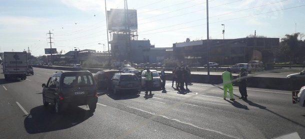 Accidente en Panamericana a la altura de Don Torcuato<br>