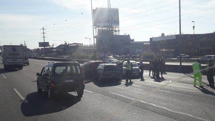 Accidente en Panamericana a la altura de Don Torcuato