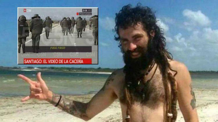 Santiago Maldonado: video muestra cómo se desplegó Gendarmería