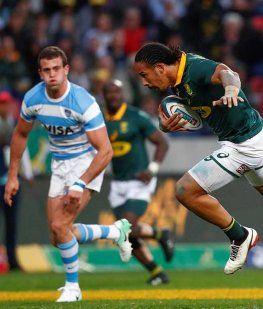 Los Pumas ante Sudáfrica