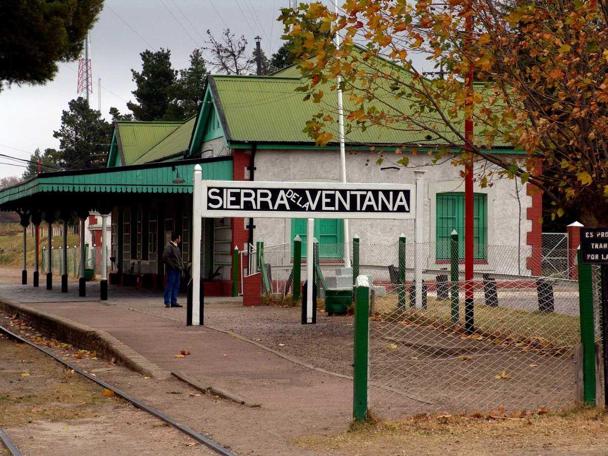 Estación de trenes de Sierra de la Ventana