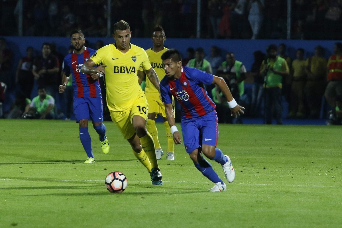 Boca le ganó a Cerro Porteño
