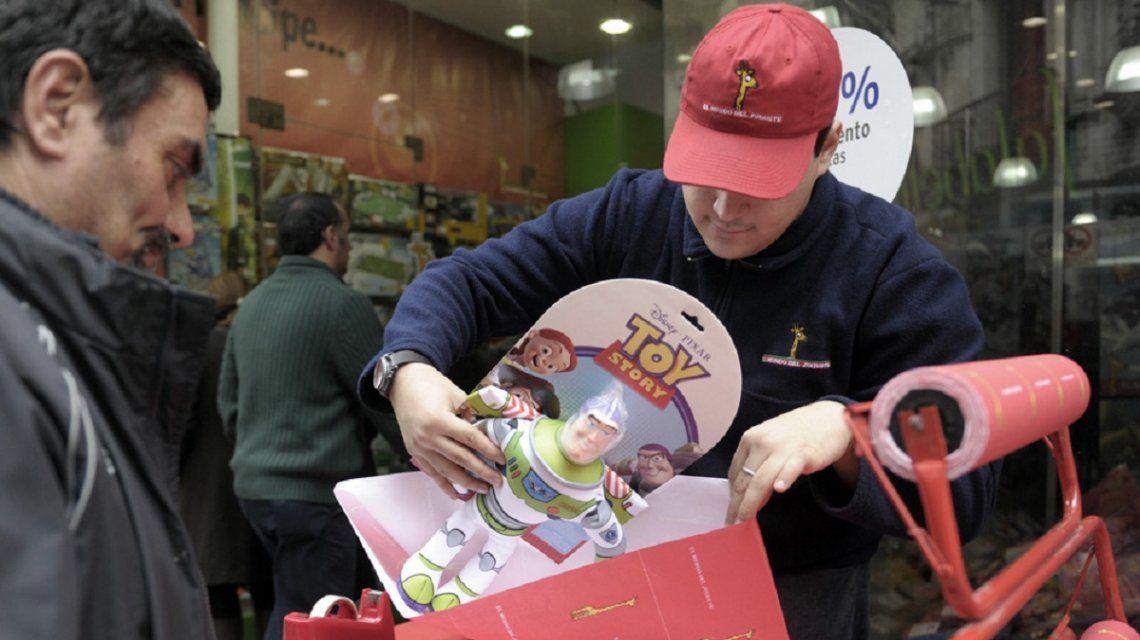 La venta de juguetes para este Día del Niño subió 4