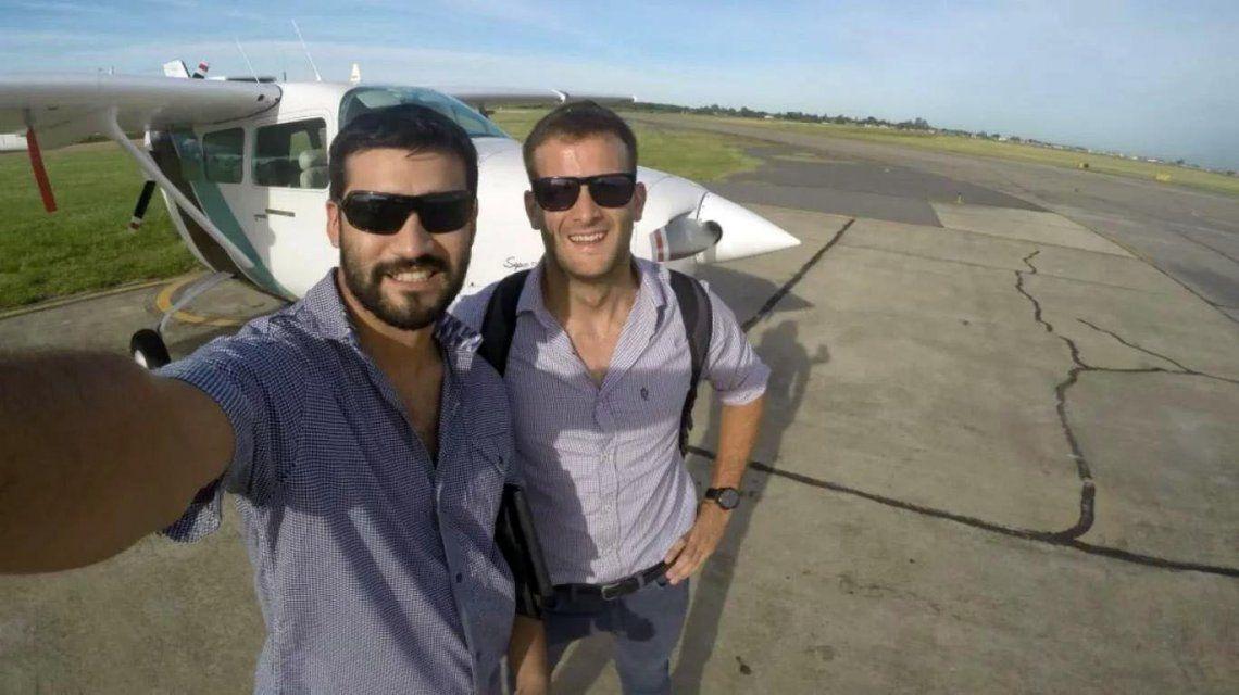Los pilotos Matías Ronzano y Facundo Vega