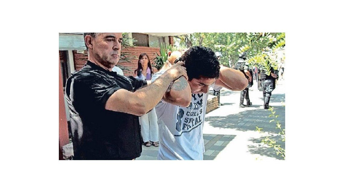 Luciano Cabral detenido