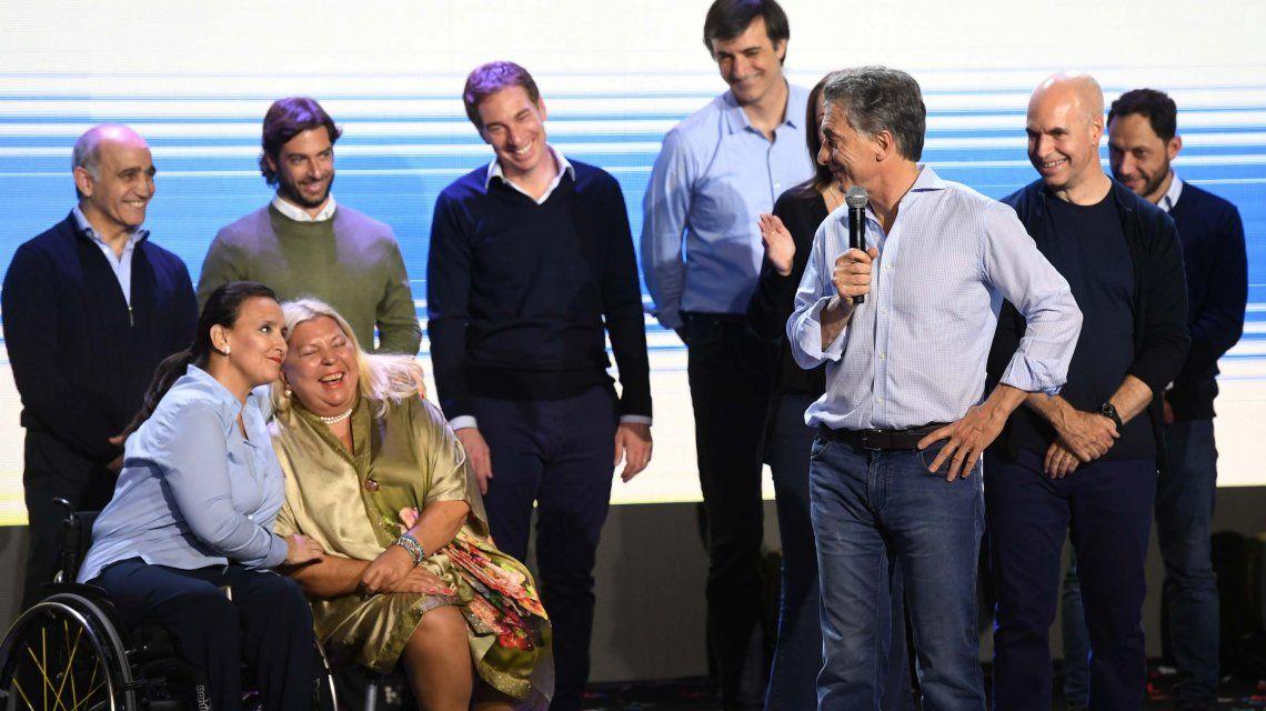 El plan de Macri para ganar en octubre: Carrió, de campaña por el país