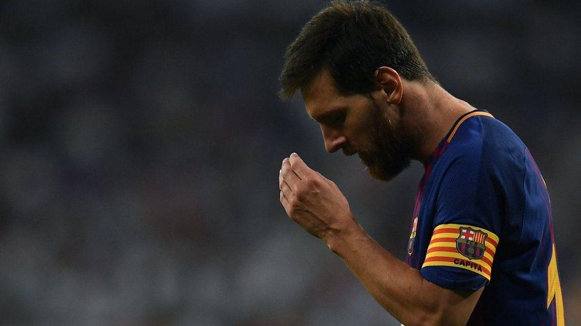 En medio del dolor tras el atentado, Barcelona ganó con Messi en cancha