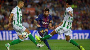 el barcelona de messi debuta con triunfo en la liga ante el betis