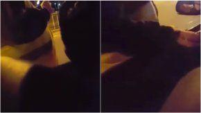 video: pidio una coima en un control de transito y lo escracharon