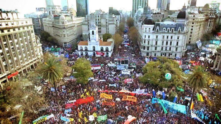Mapa y cronograma de cortes por la marcha de la CGT en la Ciudad