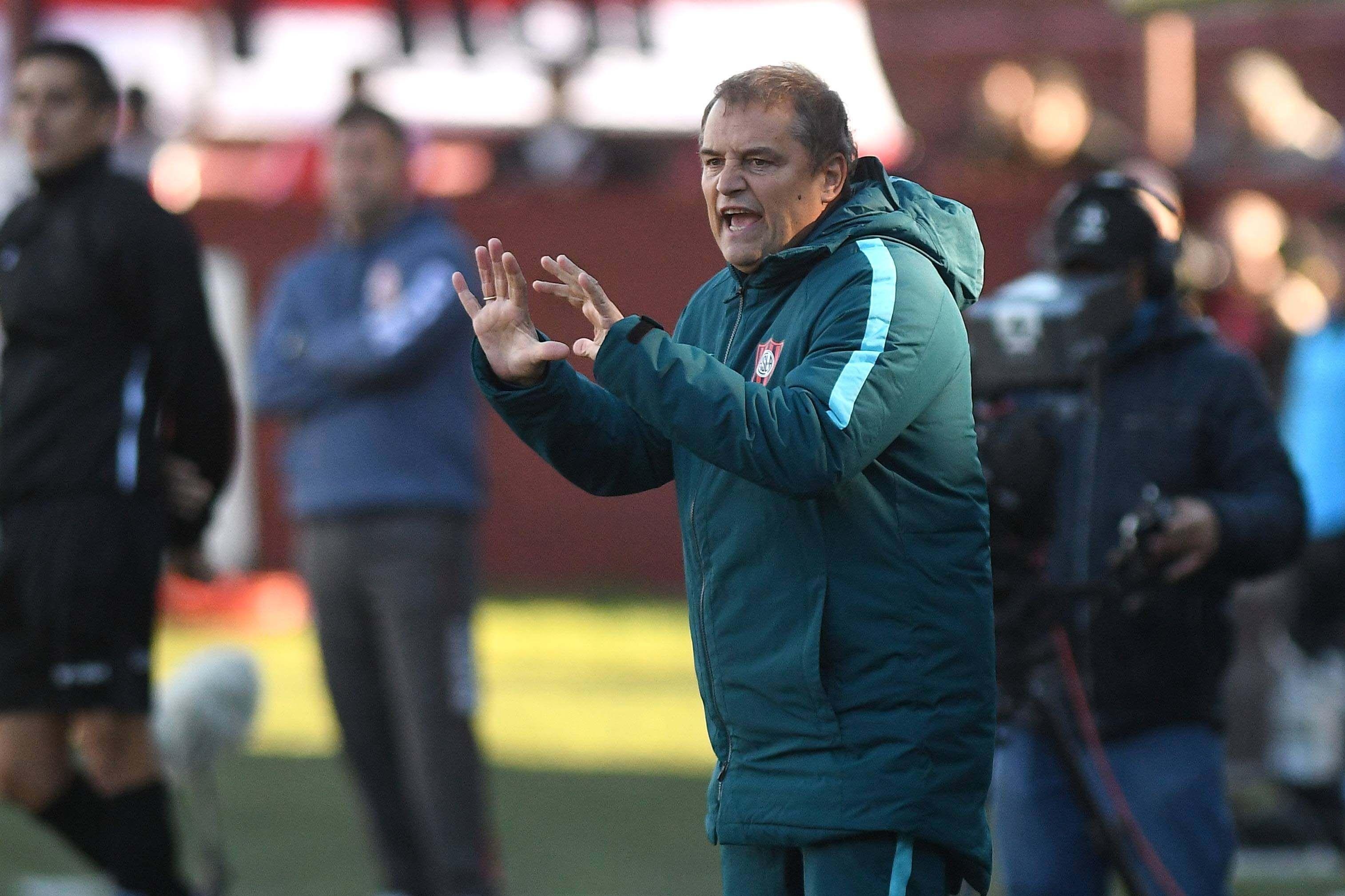 El entrenador uruguayo