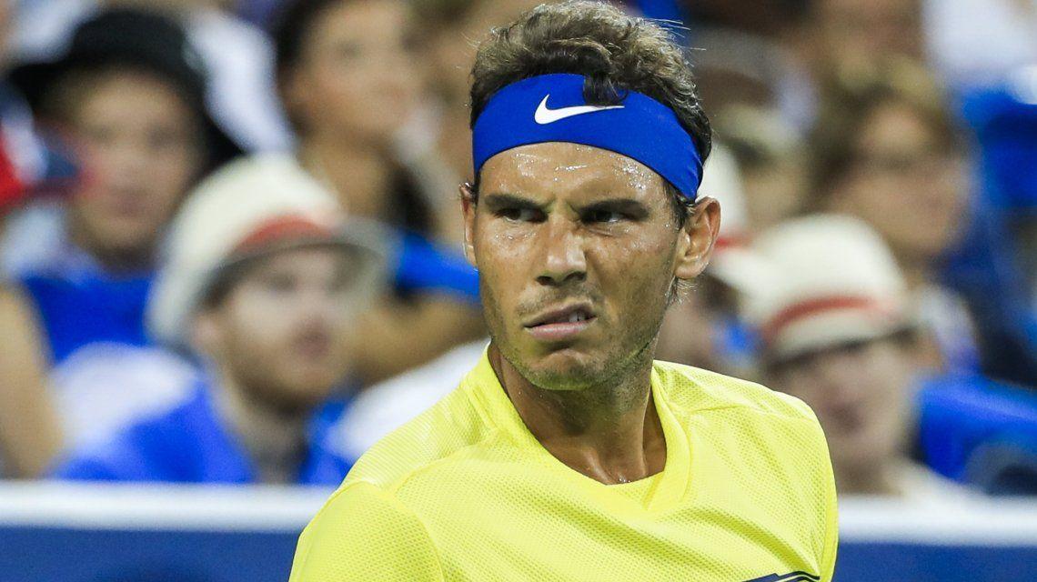 El español se vio beneficiado por la ausencia de Federer en Cincinnati