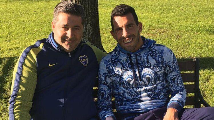 Angelici habló del posible retorno de Tevez a Boca
