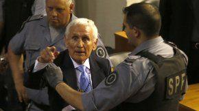 Miguel Etchecolatz, represor condenado por delitos de lesa humanidad