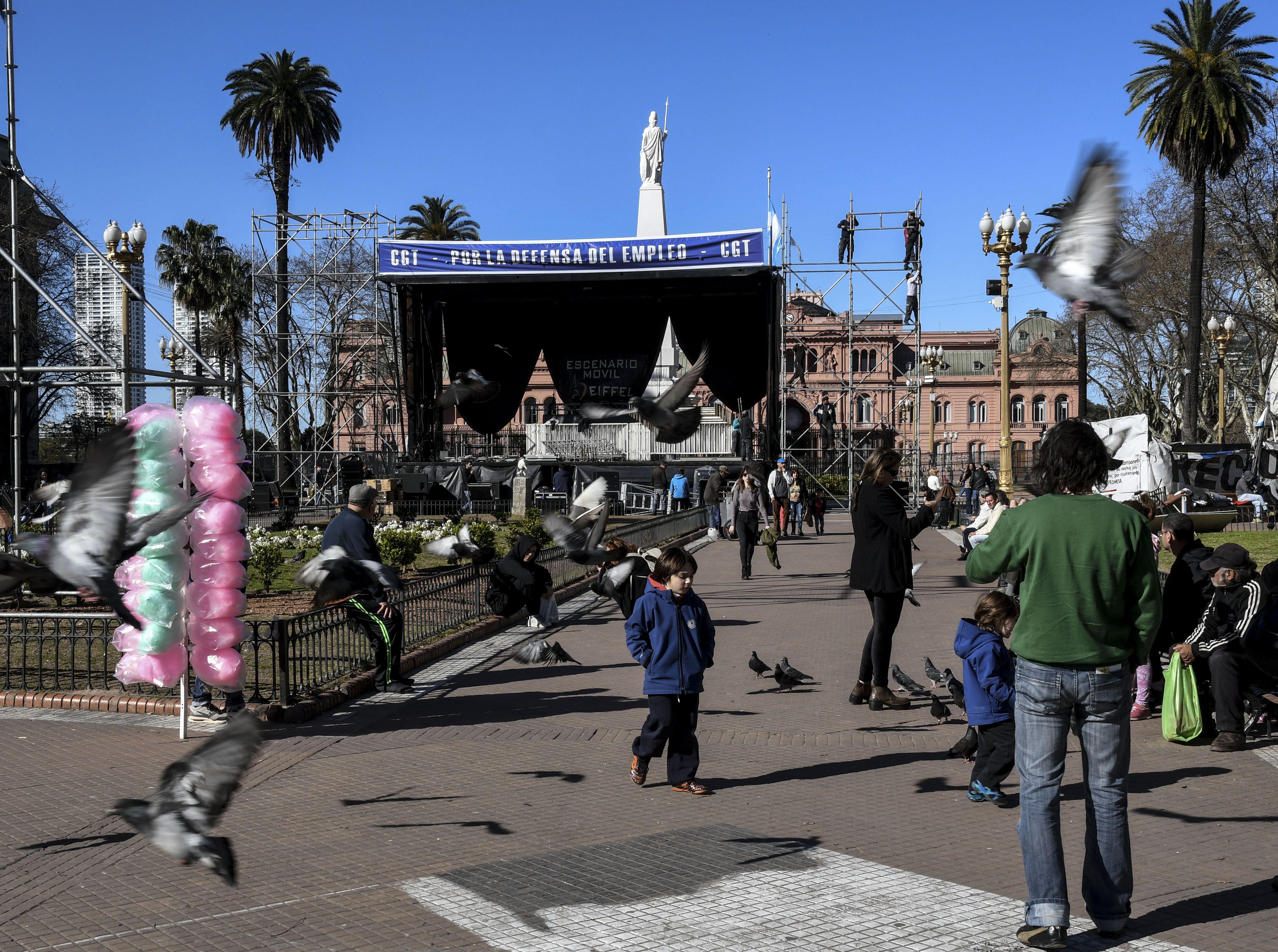 Marcha de la CGT: qué gremios se movilizarán este martes a Plaza de Mayo