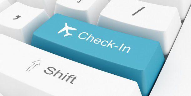 Check in online, una forma de elegir los mejores lugares<br>