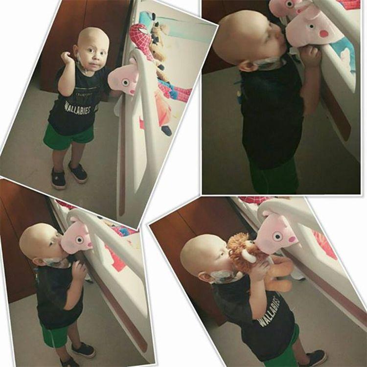 Su hijo de cinco años murió tras una larga lucha contra la leucemia