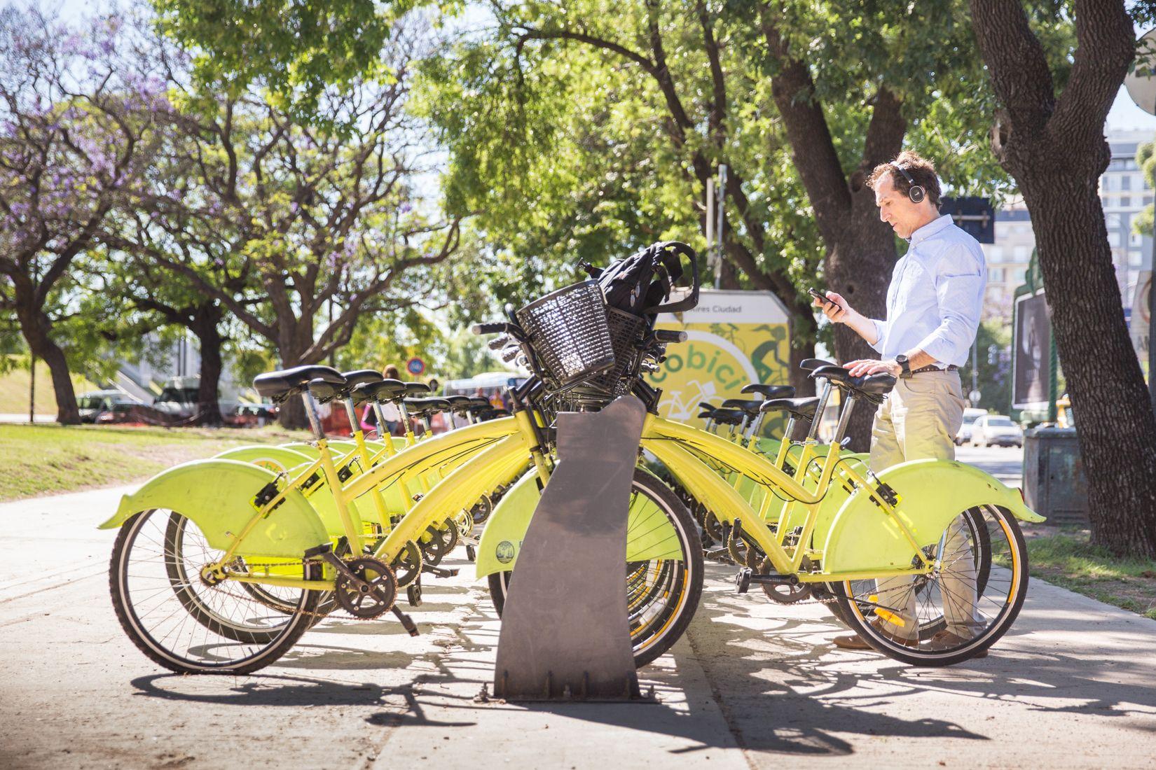 Pedalear en la Ciudad: se hacen más de 8 mil viajes diarios en EcoBicis