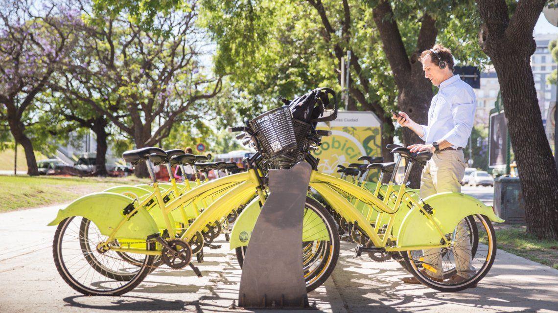 Hay 200 estaciones distribuidas en toda la Ciudad con una flota de 2.500 bicicletas