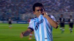 El Pulga Rodríguez abrió el marcador en Tucumán
