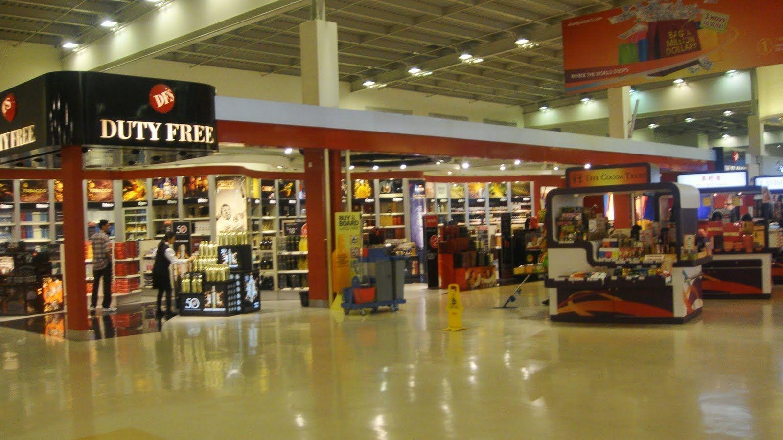 En el Singapur Changi está este Duty Free con las mejores marcas