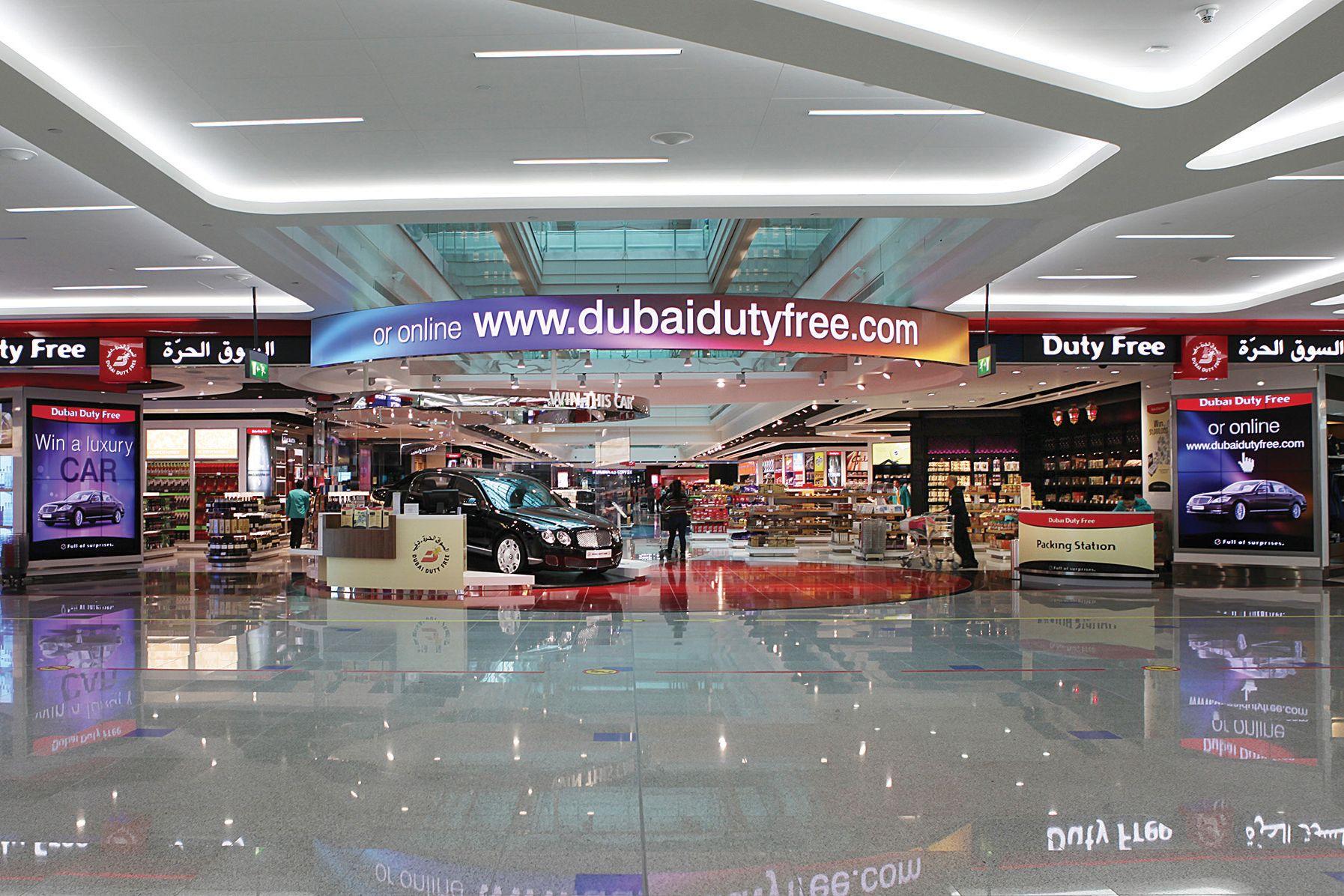 El Dubai Duty Free es uno de los más impresionantes del mundo