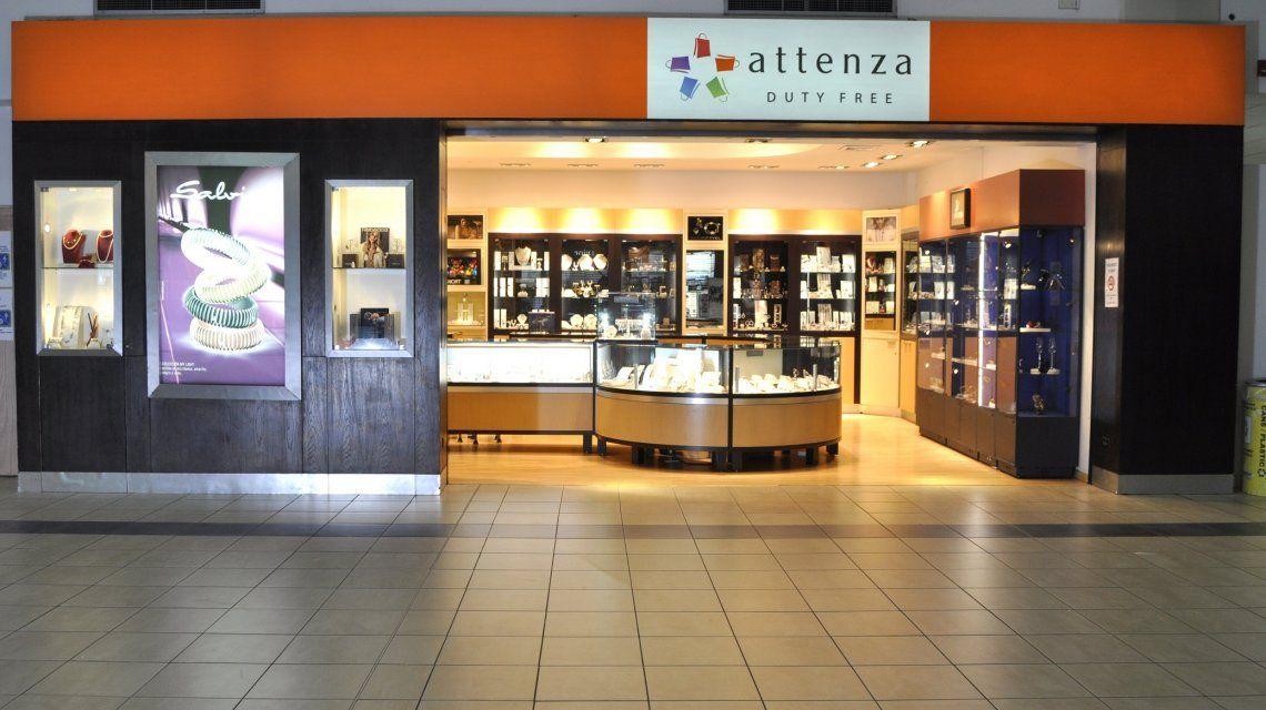 En el Attenza Free Shop están las marcas internacionales a precios convenientes