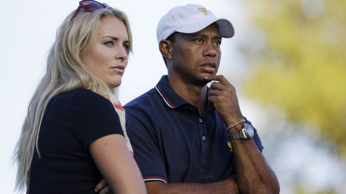 Filtraron fotos Tiger Woods y Lindsey Vonn desnudos