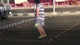 Fue detenido en Arabia Saudita por bailar en la calle