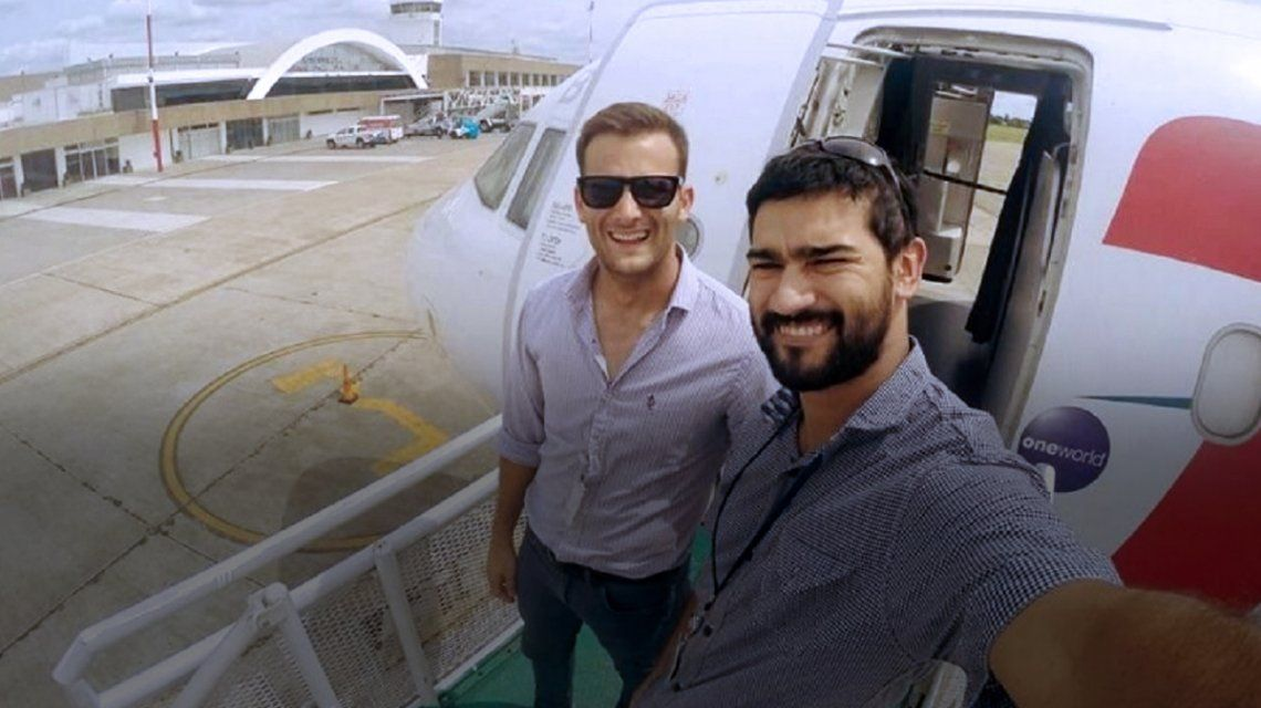 Matías Ronzano y Facundo Vega